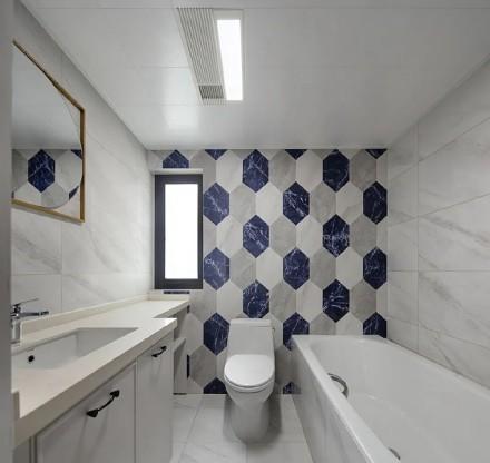 简约地中海,给新家注入一点蓝~卫生间