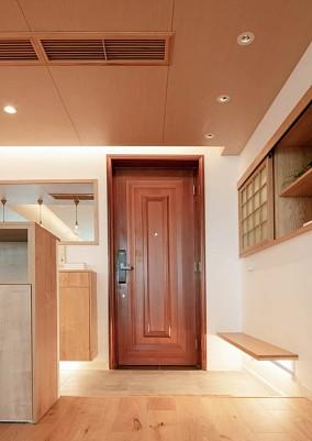 100㎡极简日式超级温馨舒适玄关3图日式设计图片赏析