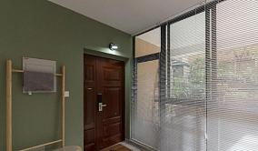 123平米日式风格设计卡座餐厅玄关日式设计图片赏析