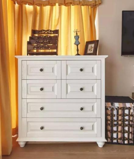 68平米美式风格设计卧室