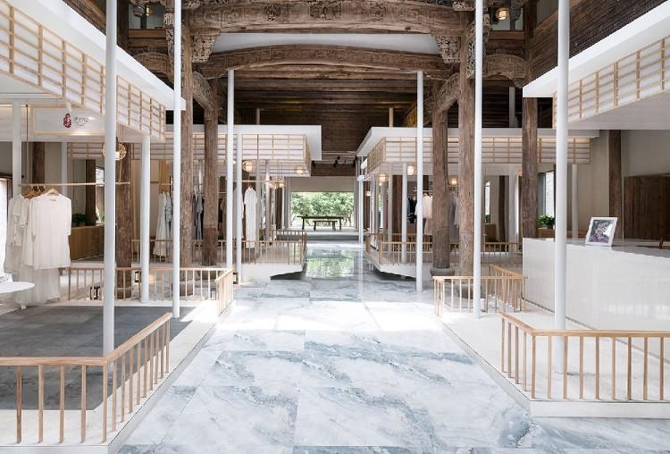傳統古建筑構成--功能多變空間