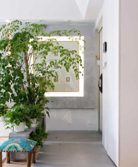 140平米现代风格设计玄关1图