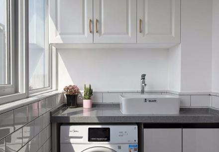 80平米混搭风格设计两居室阳台