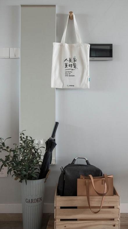 【宽度空间】日式风格89平三房功能区