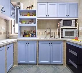 125平四房田园风,多变的家餐厅2图美式田园设计图片赏析