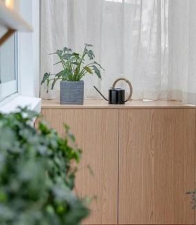 80平两房北欧风,清新大阳台阳台北欧极简设计图片赏析