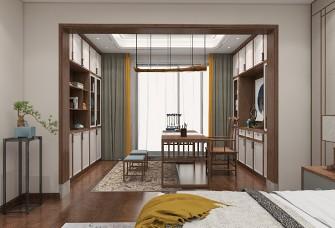 皇庭美域三房新中式风格