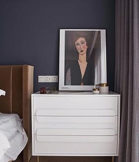 118平米北欧风格设计卧室北欧极简设计图片赏析