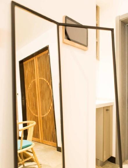 121平米现代极简风格设计玄关