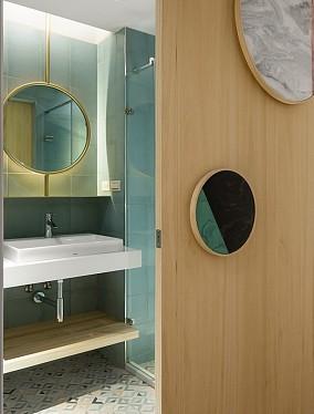 231㎡透亮景观退休宅,中式别墅卫生间中式现代设计图片赏析