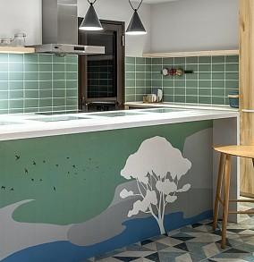 231㎡透亮景观退休宅,中式别墅餐厅1图中式现代设计图片赏析