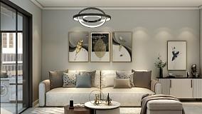 72㎡三居室,现代风格外形简洁17311455