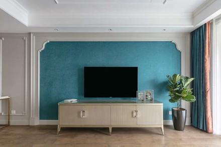 美观又实用,101㎡温馨3居室客厅