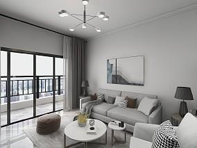 110平方现代风格装修案例17334192