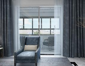 这套三居室也太好看了吧~好爱公主房阳台中式现代设计图片赏析
