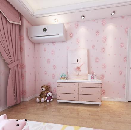 这套三居室也太好看了吧~好爱公主房卧室2图