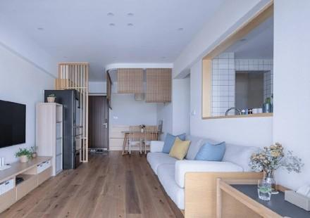 日式小家简单与诗意客厅3图