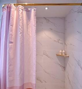 38平米北欧风清爽小户型卫生间1图北欧极简设计图片赏析