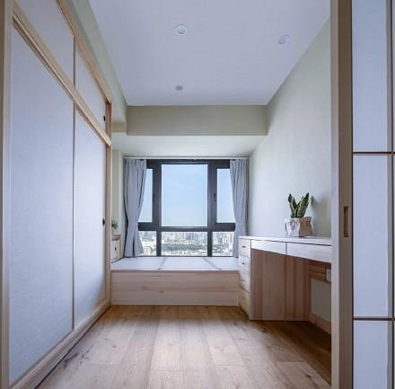 日式小家简单与诗意卧室2图