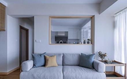 日式小家简单与诗意客厅2图