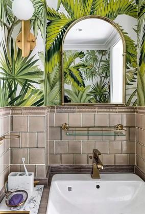 阳光城花满墅160㎡美式风格卫生间美式经典设计图片赏析