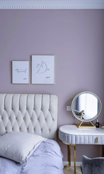 精致小家品质感的生活模式卧室