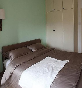 90平米混搭风复式楼卧室1图潮流混搭设计图片赏析