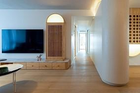 123平米日式风缥缈优雅客厅日式设计图片赏析