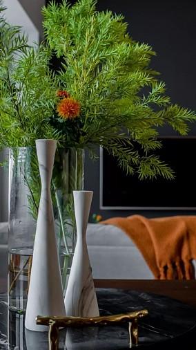 105平米北欧风复式楼厨房北欧极简设计图片赏析