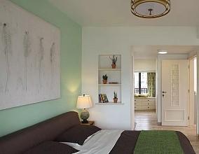 90平米混搭风复式楼卧室2图潮流混搭设计图片赏析