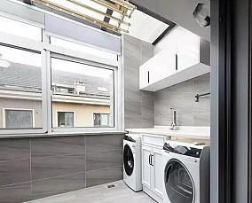 80平米新中式风古典优雅阳台中式现代设计图片赏析