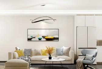 纯粹干净·105㎡现代简约三居室