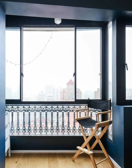 98平米混搭风格设计古典美阳台