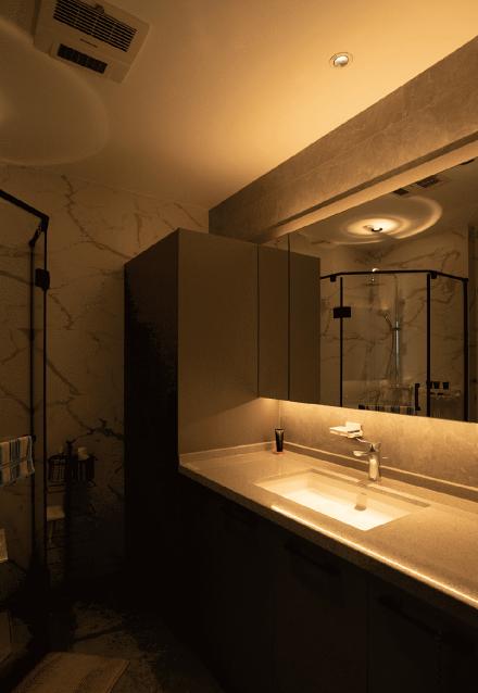 150米现代风格,家是梦想的远方卫生间