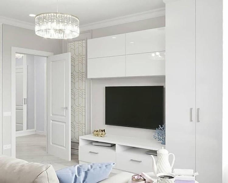 清新淡色空间,墙布的颜色搭配很重要