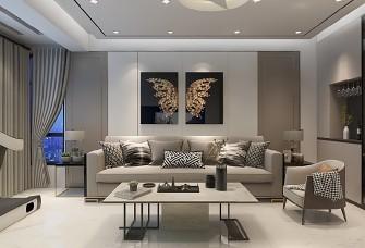 90平方轻奢现代简约两居室