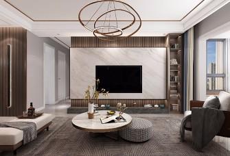 现代风格136平米三室