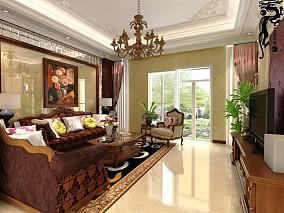 格调90平米两室两厅平面图