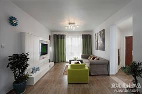 精选93平方三居客厅现代装饰图片大全客厅
