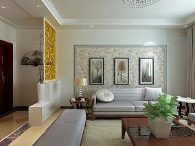 别墅配饰设计室内效果图