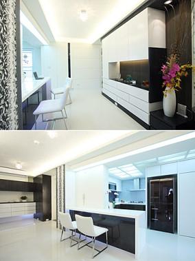 宜家风格设计三居室装修效果图片