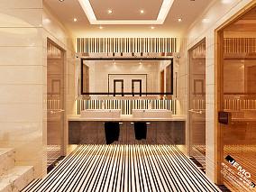 白色简欧式客厅装修