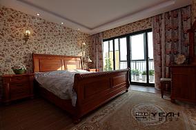 精选135平方混搭别墅卧室装修实景图片欣赏