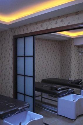 中式卧室窗帘