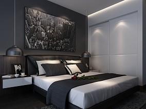 2018卧室混搭装修设计效果图片欣赏