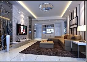 精美家庭软装饰客厅