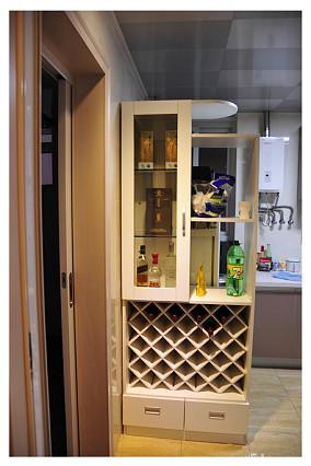 精选84平米二居厨房混搭装饰图