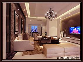 复式别墅客厅