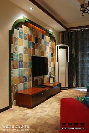 精美105平米三居休闲区东南亚装饰图片欣赏