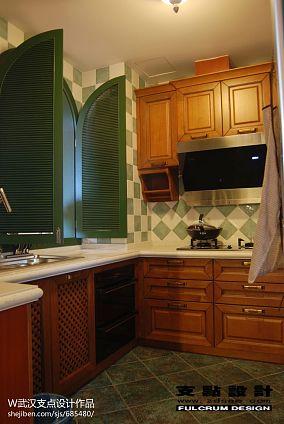 精选三居厨房东南亚装修设计效果图片大全